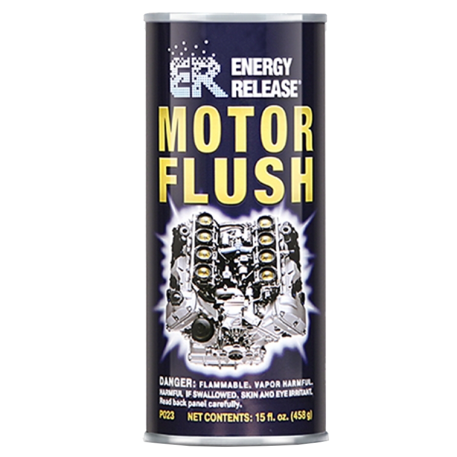 Energy Release Motor Flush Cleans & Conditions The Engine