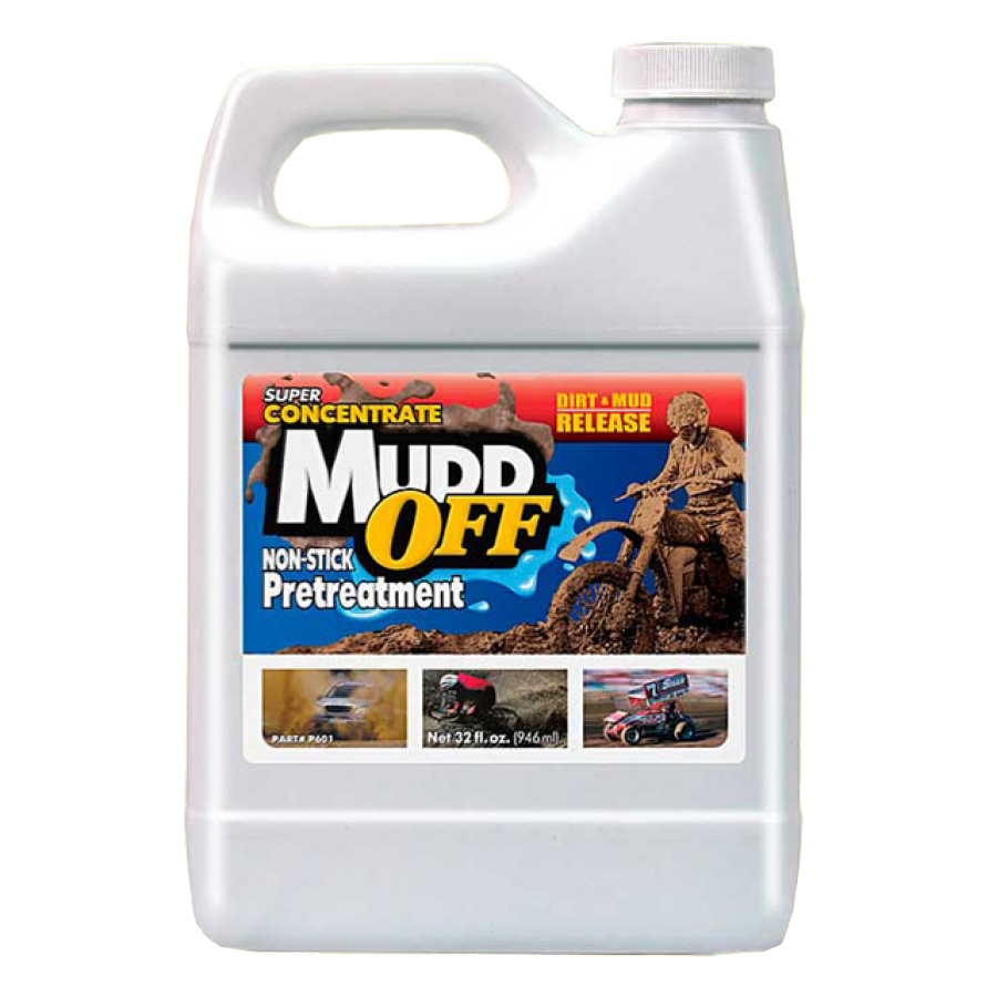 MuddOFF Super Concentrate Prevents Mud From Sticking