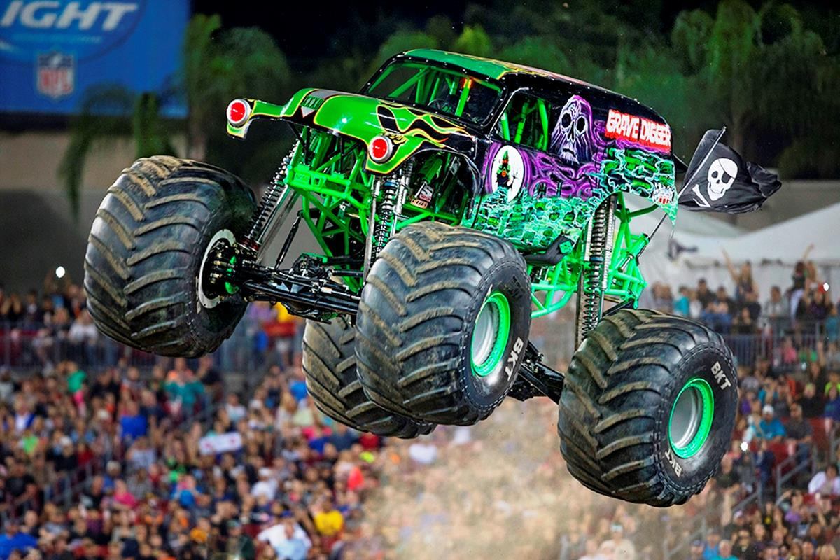 Energy Release Sponsored Grave Digger | Monster Jam Sponsor
