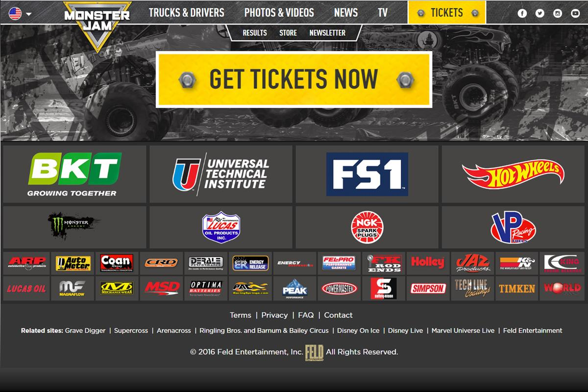 Energy Release Sponsored Monster Jam | Feld Motorsports