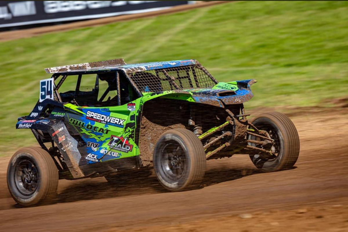 Jeremy Houle #54 in action at the ERX Off-Road National on July 10-11, 2020