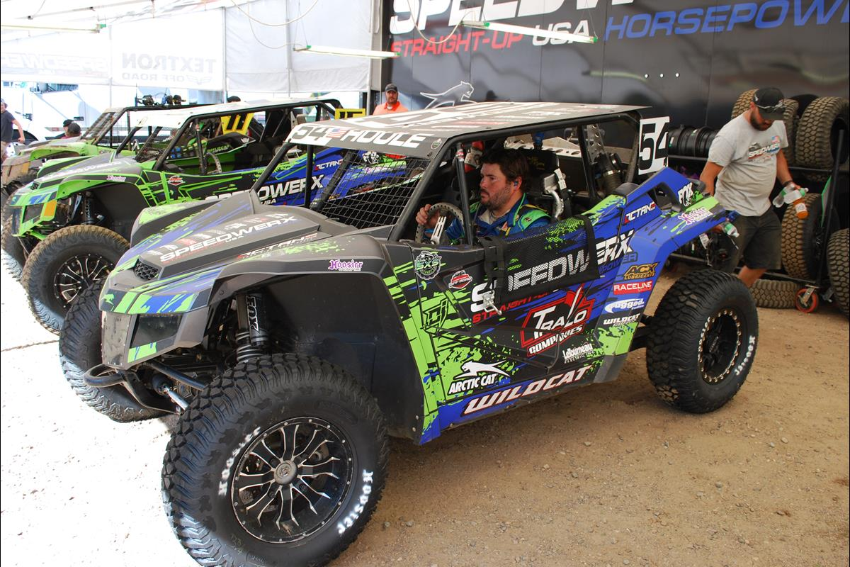 Jeremy Houle #54 - ready for action | Speedwerx / Tralo Motorsports / Arctic Cat Team