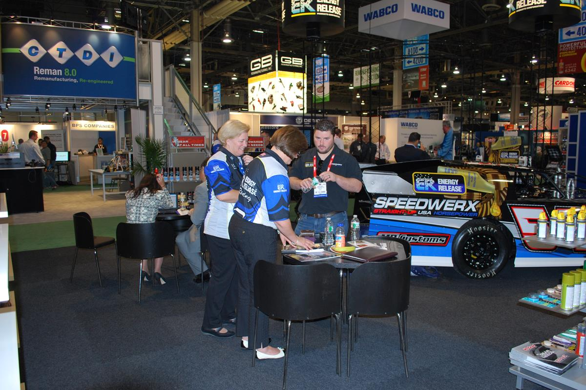 Hi-Gear Products, Inc. booth at SEMA Show | Energy Release sponsored Jeremy Houle #54