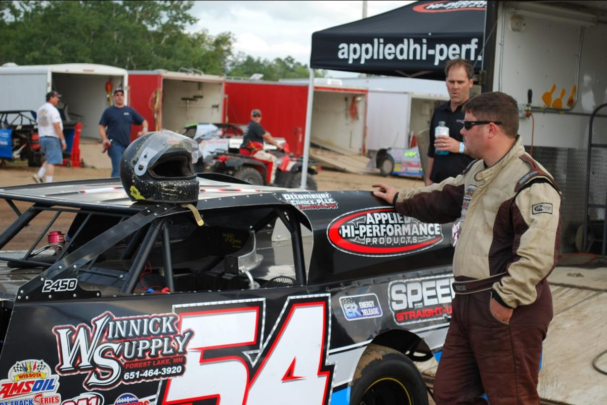 Applied Hi-Performance Products sponsored Jeremy Houle #54