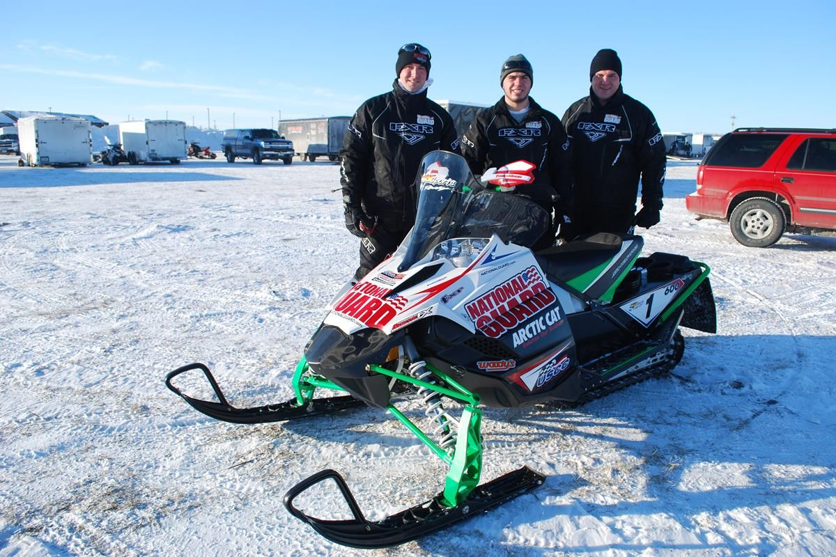 USCC Snowmobile Racing Series | I-500 National Guard Race Team