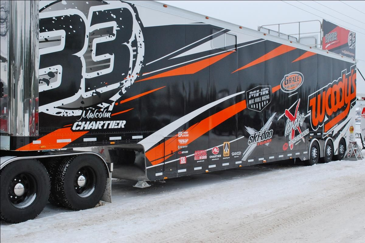Energy Release Sponsored Malcolm Chartier #33 Transporter