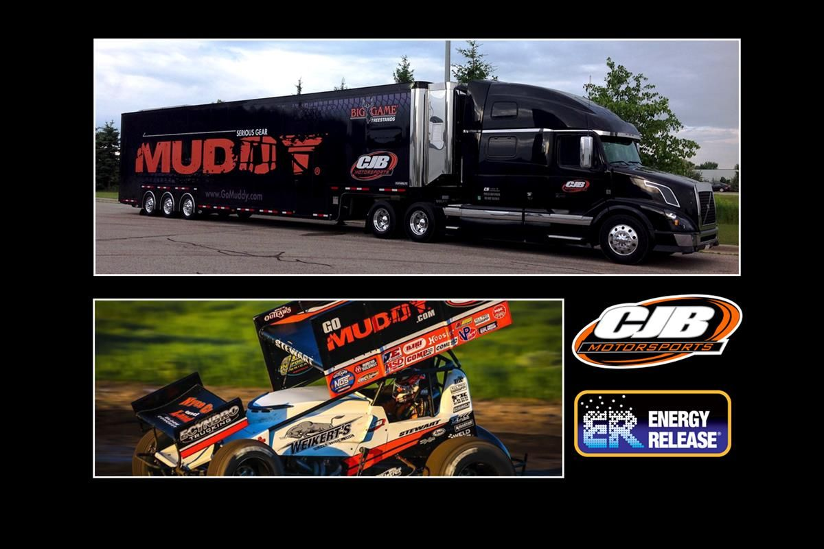 Energy Release Sponsored CJB Motorsports | World of Outlaws