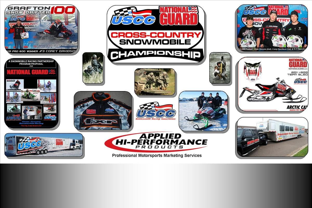 USCC Snowmobile Racing Series | National Guard - Title Sponsor