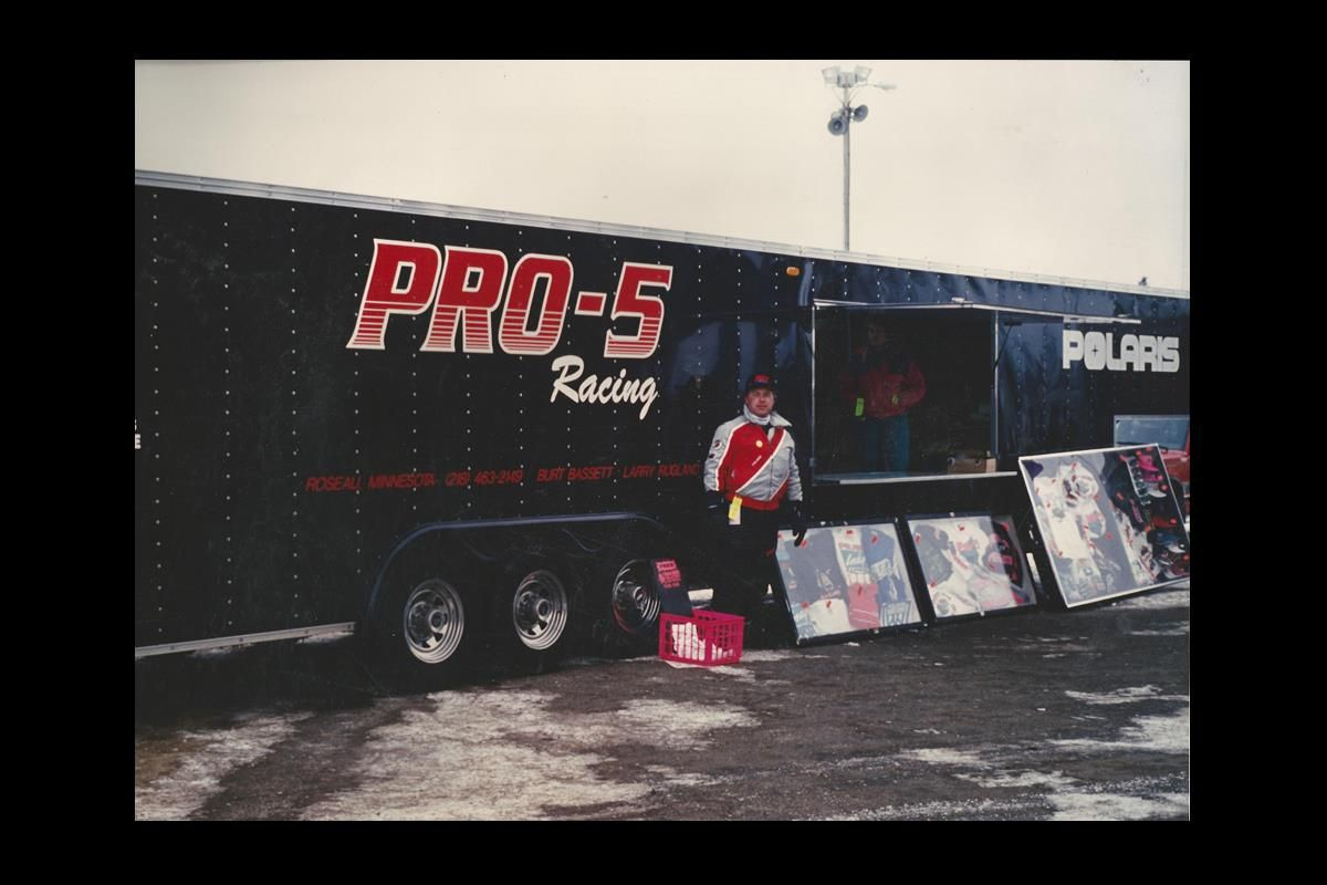 Pro-5 Racing | Formula lll Ice Oval Snowmobile Racing | Noel Schanilec, Marketing Director