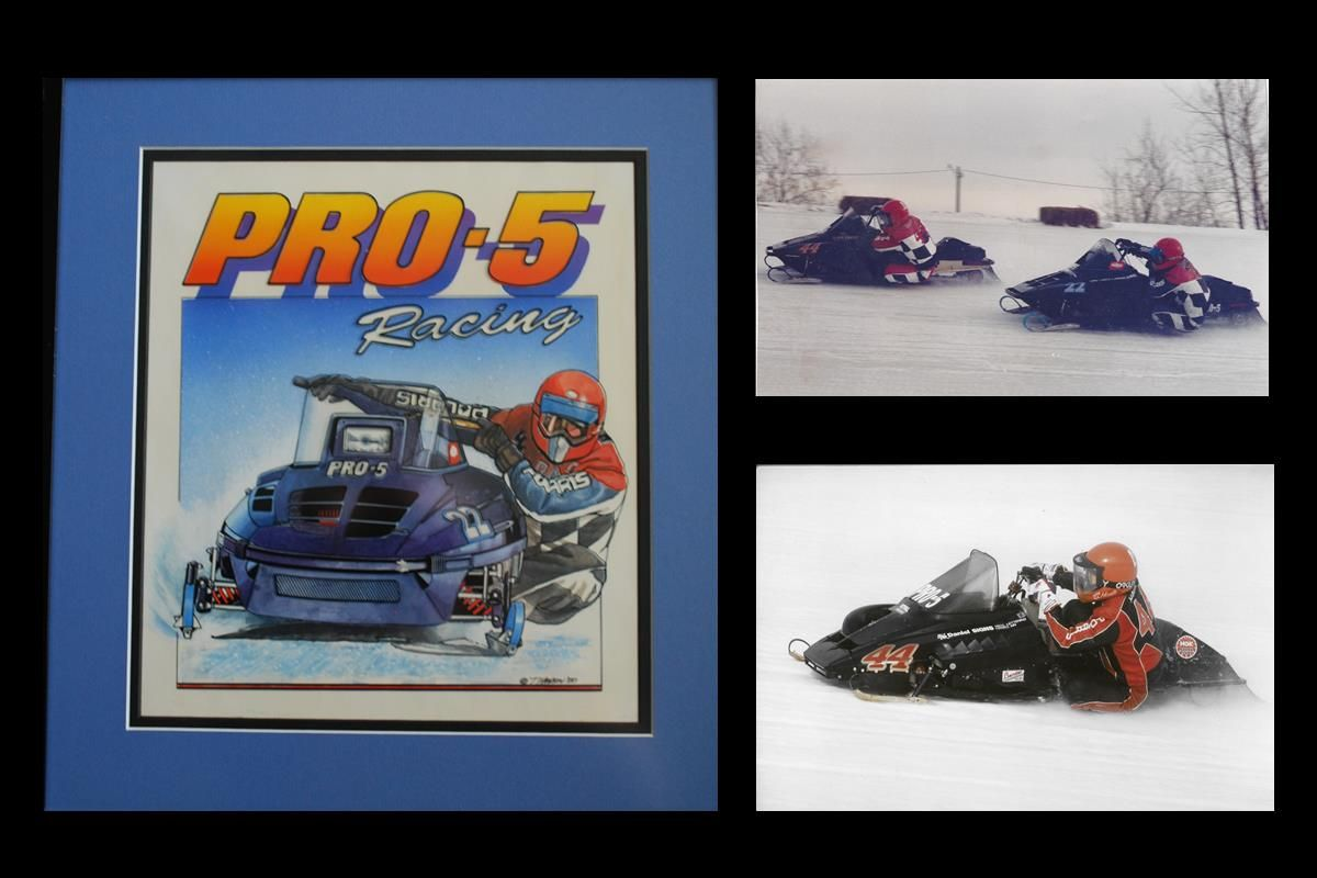 Pro-5 Racing | Formula lll Ice Oval Snowmobile Racing | Owners Burt Bassett - Larry Rugland