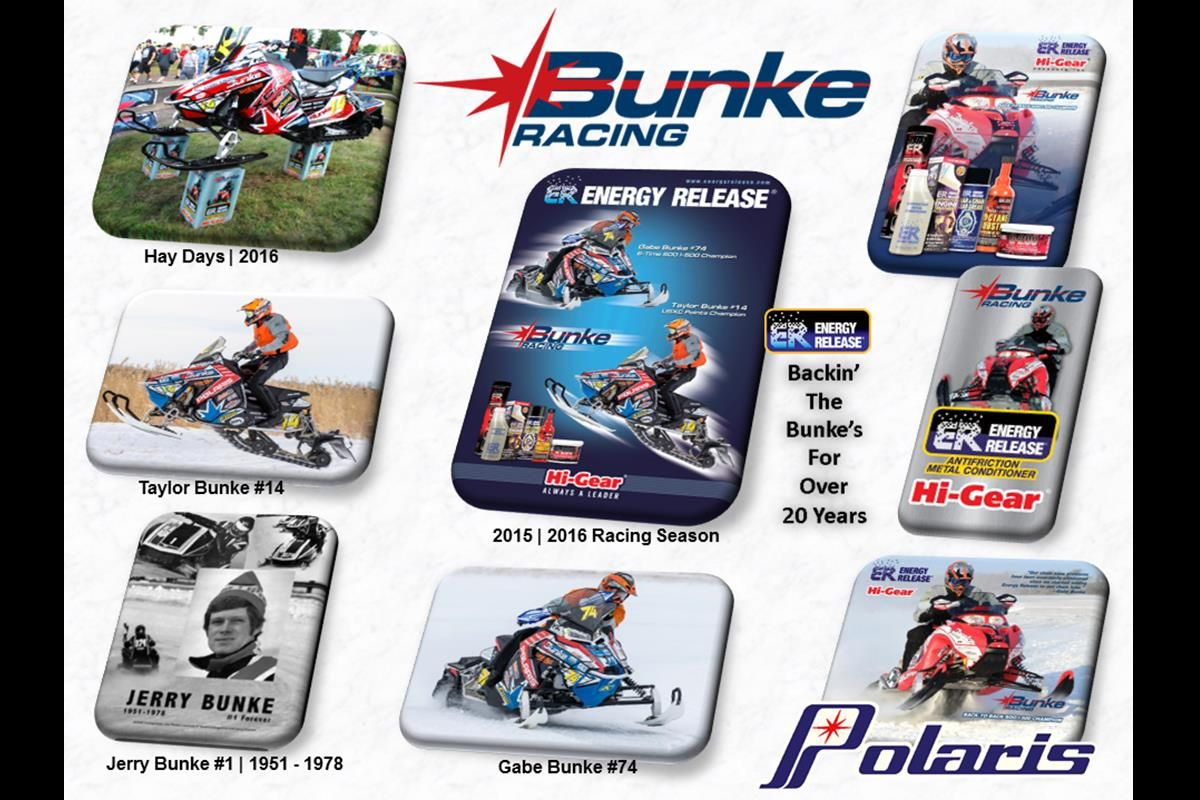 Energy Release Sponsored Bunke Racing | Backin' the Bunke's for Over 26 Years