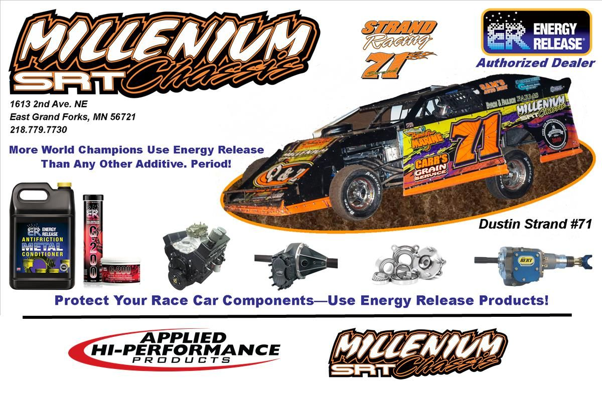 Dustin Strand #71 | Millenium Chassis - Strand Racing | Authorized Energy Release Dealer